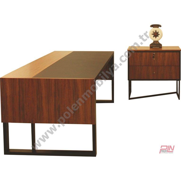 çerçeve ayaklı royal makam masası