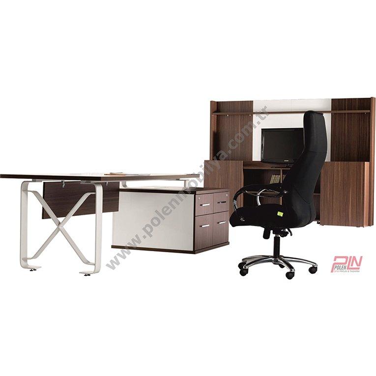 soft yönetici masası takımı