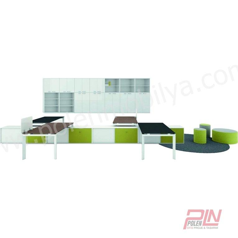 elegant çoklu çalışma masası- pln-3302