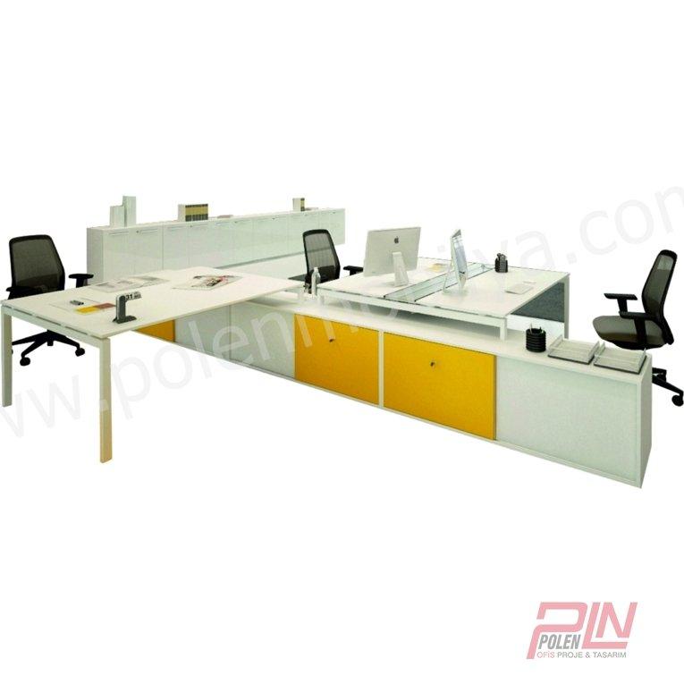 elegant çoklu çalışma masası- pln-3303