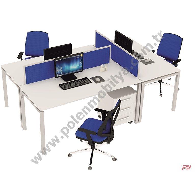 elegant çoklu çalışma masaları- pln-3312
