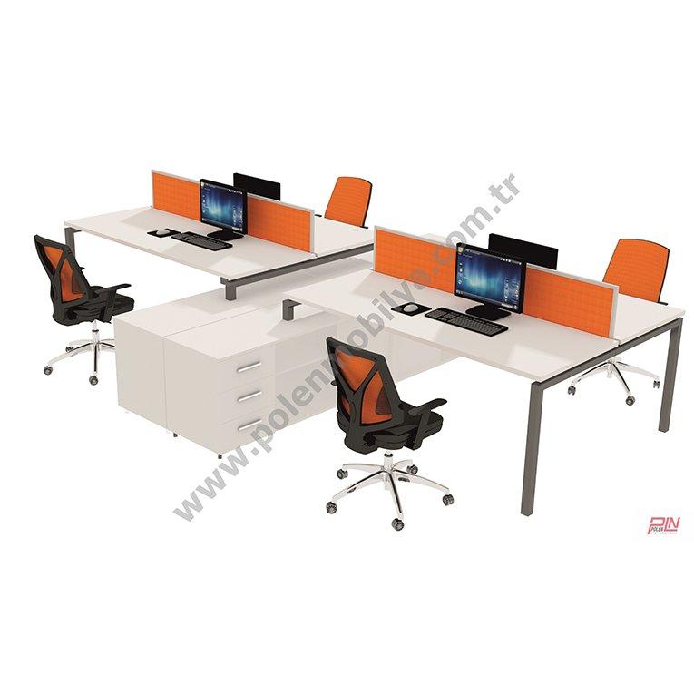elegant çoklu çalışma masası- pln-3313