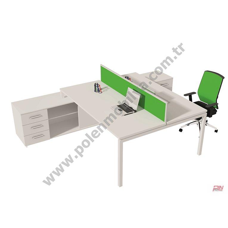 elegant çoklu çalışma masaları- pln-3314