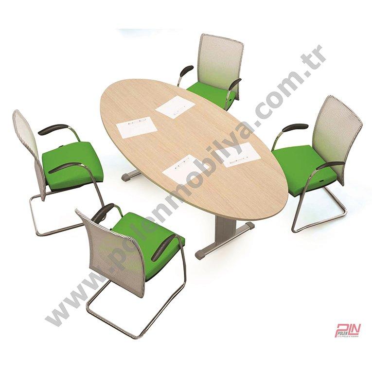 ellipse toplantı masası- pln-6324