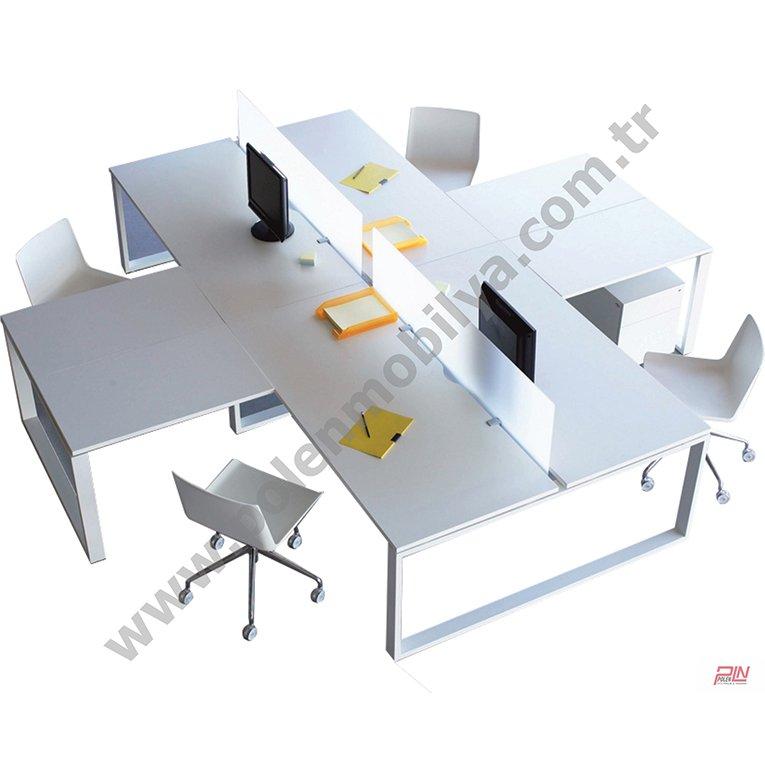 mrt çoklu çalışma masaları- pln-3326