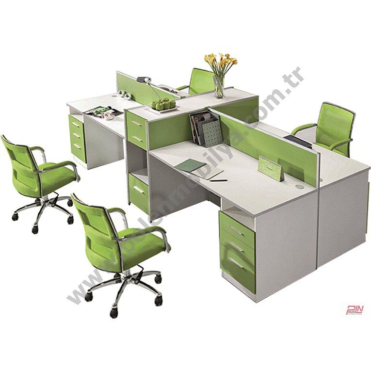 otto çoklu çalışma masaları- pln-3330