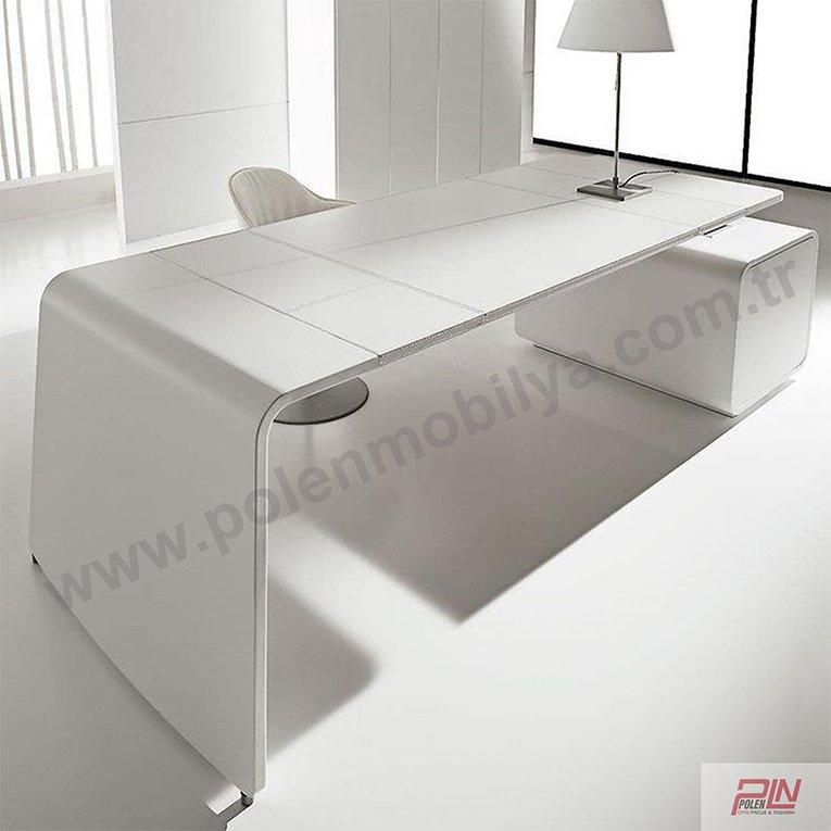 white yönetici masası- pln-5315